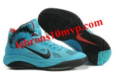 Nike Zoom Hyperfuse XDR 2010 Shoes Blue/Black