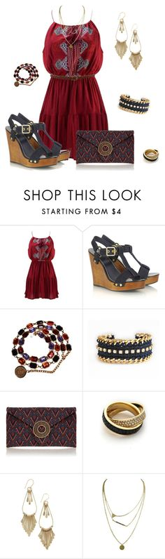 """""""Shipping Up To Boston ⚓️"""" by jacci0528 ❤ liked on Polyvore featuring Chicnova Fashion, Tory Burch, Chanel, Wilbur & Gussie and Michael Kors"""