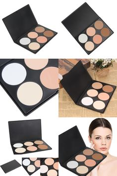 [Visit to Buy] Multi-function 6 Color Glow Bronzer Contour Palette Foundation Makeup Face Pressed Powder Or Can Be Used As Eye shadow #Advertisement