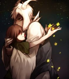 Undertale: Chara and Asriel