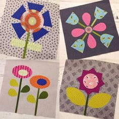 Moosette Carolyn has channeled her inner @jenkingwell for the Bloom Sewalong project. #behindthescenesfabric for backgrounds with #specksfabric and @zenchicmoda  #foryoufabrics as her floral garden #quilt #mooseitup #sewsimpleshapes #bloomsewalong #showmethemoda #beeinmybonnet @marzstars1991