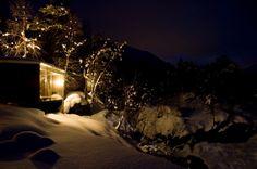 Juvet by night