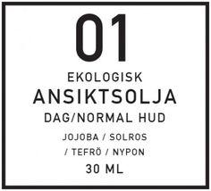 DIY Ansiktsolja för normal hud, dag - organicmakers.se