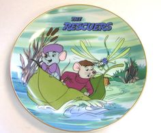 Disney The Rescuers Collectible Plate 1980s by AuntLizzysAttic, $14.99