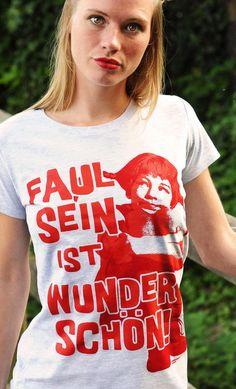 Pippi Langstrumpf Girls T-Shirt - Logoshirt