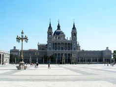 Almudena Cathedral   Madrid, Spain