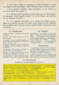 Manuels anciens: Tranchart, Levert, Rognoni, Bien lire et comprendre Cours élémentaire (1963) : grandes images French Learning Books, Teaching French, English Story Books, French Grammar, Learn French, Comprehension, Storytelling, Activities, Read And Write