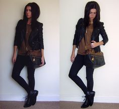 Rocker chic.  My fave ;)