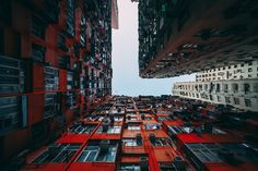 Photo Series 'Stacked' Showcases The Stunning Geometry Of Hong Kong's Public Housing