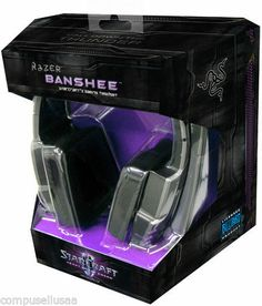 #onsalenow - Razer Banshee StarCraft II Heart of the Swarm Edition Gaming Headset