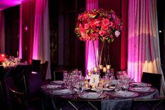 beautiful color scheme for an evening wedding