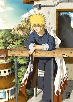Minato Namikaze. One of the most awesome Naruto characters ever!!!