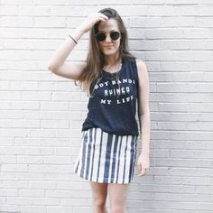 So many ways to style this and all of our shirts!