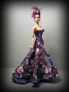 Asian Beauty OOAK gown by Madeleine Rose