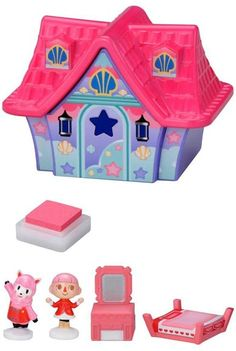 Animal Crossing Character Stamp Collection Mermaid House $25.00 http://thingsfromjapan.net/animal-crossing-character-stamp-collection-mermaid-house/ #animal crossing stamp #Japanese anime stuff #anime product