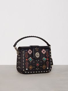 All Over Western Rivets Page Crossbody