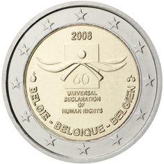 Bélgica 2 euros conmemorativos (Especial) 2008