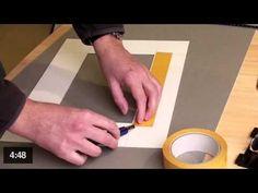 ▶ Tutorial : Réaliser un passe-partout : Photo 3/3 (méthode rapide) - YouTube