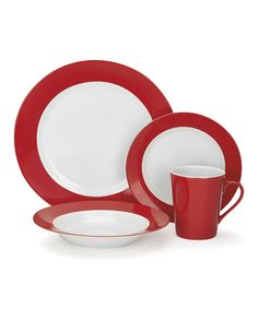 Love this Rialle 16-Piece Dishware Set by Cuisinart on #zulily! #zulilyfinds