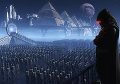Stargate Digital Art  Glossy Print  'Army Of by SaganDigitalArt