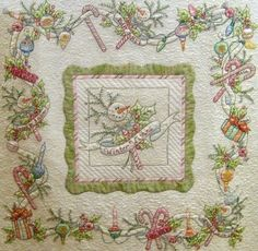 A beautiful quilt made using Crabapple Hill's pattern.