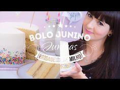 BOLO JUNINO COM BRIGADEIRO DE MILHO | I Could Kill For Dessert 95 #ICKFD - YouTube