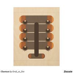 Chestnut Wood Prints