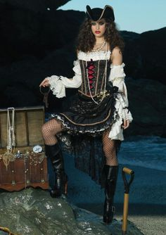 Pirate costume- like the top but want longer skirt or pants