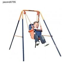 Indoor Outdoor Playground Swings Hedstrom Folding Toddler Swing Garden Toy Fun
