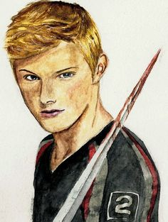 Cato Looks Deadly in the Hunger Games Hunger Games Pin, Hunger Games Characters, Hunger Games Humor, Hunger Games Trilogy, Beautiful Drawings, Cool Drawings, Hunger Games Drawings, Four Movie, I Volunteer As Tribute