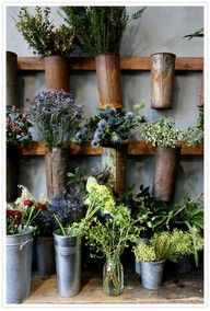another cool vertical planting idea.
