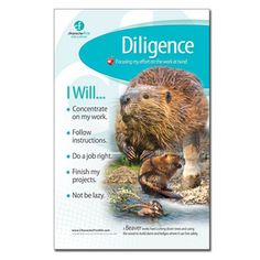 Diligence, Character Qualities, Character Counts, Homeschool Curriculum, Homeschooling, Character Education, Leadership Development, Learning Centers, Food Inspiration