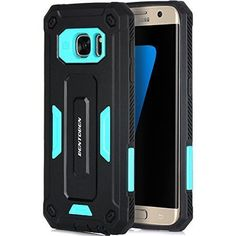 This #GalaxyS7EdgeCase is designed in Italy. All the products are manufactured with premium materials in a continuous effort to produce high quality products that are protective and simple.   Galaxy S7 Edge Case Black & Blue Dual Layer TPU Hybrid Rugged Shockproof Cover | eBay Specially designed for Samsung Galaxy s7 edge only (2016) and it will NOT fit Samsung Galaxy S6 edge, S6 Active, S7 or other Samsung phones. Compatible Model: For Samsung Galaxy… EBAY.COM