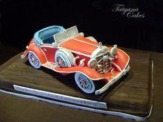 Mercedes-Benz 500K Erdmann & Rossi 1934  Cake by tatyana_cakes