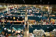 Twice a year the Arts & Crafts community in Gatlinburg brings its wares and skill demonstrations out to public view, in an acclaimed show.