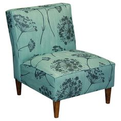 Aqua & Queen Anne's  Lace - LOVE the print and colour too <3
