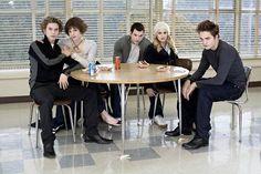 Jasper, Alice, Emmett, Rosalie, Edward