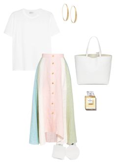 """""""Untitled #1648"""" by nujixo on Polyvore featuring Yves Saint Laurent, Jacquemus, Peter Pilotto and Lana"""