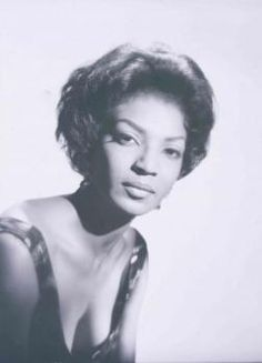 Nichelle Nichols' early 60s head shot