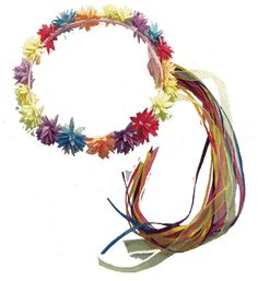 Rainbow Flower Halo