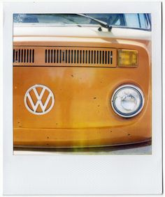 VW... our van was this color... back in the 70's :)