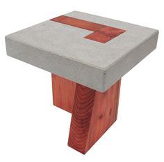 Leigh Cameron's concrete table series