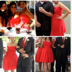 B2 Jasmine red bridesmaid / prom dress B2 Jasmine red bridesmaid / prom dress used once for a summer wedding, could also be used for a prom. Sits right above the knee, it says size 12, but it was altered at the chest, my current dress size is an 8, kind of feels that way , I could also say it fits like a medium, offers welcome! 💃🏻💃🏻☀️🌺 B2 Jasmine Dresses Wedding
