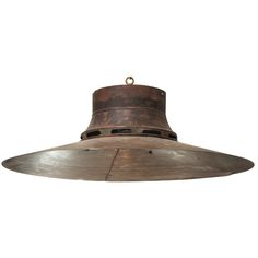 19th Century French Copper Light Shades | From a unique collection of antique and modern chandeliers and pendants  at http://www.1stdibs.com/furniture/lighting/chandeliers-pendant-lights/