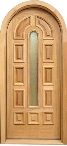 A wide variety of single. A wide variety of wooden single. Wooden Glass Door, Wooden Arch, Glass Doors, Single Door Design, Wooden Main Door Design, Wood Entry Doors, Arched Doors, Modern Wooden Doors, Wardrobe Door Designs