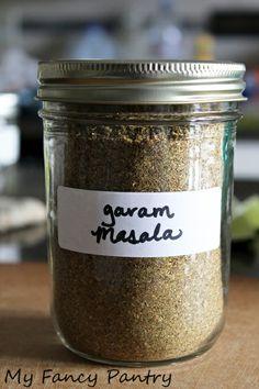 garam masala, indian spice mix, easy garam masala recipe