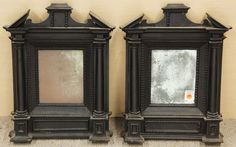 6058: Pair, Italian tabernacle frames : Lot 6058