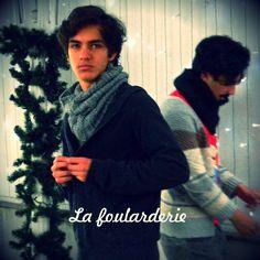 Cuellos para hombres! La Foularderie. Colección de Navidad