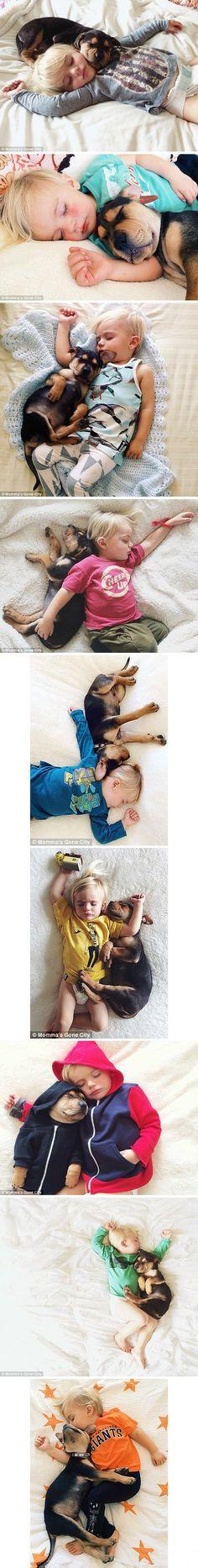 Their own Nap time~~