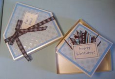 Pop Up Card with Box, Crafter's Companion Ultimate DVD, Project 02 - Craft Critique